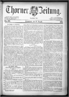 Thorner Zeitung 1881, Nro. 199