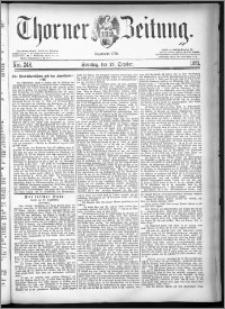 Thorner Zeitung 1881, Nro. 248 + Beilage, Extra-Beilage
