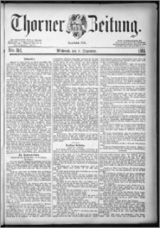 Thorner Zeitung 1881, Nro. 286