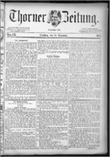 Thorner Zeitung 1881, Nro. 291 + Extra-Beilage