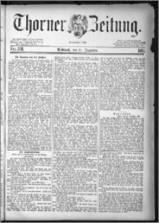 Thorner Zeitung 1881, Nro. 298