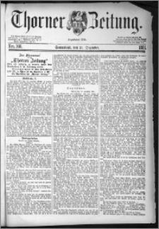 Thorner Zeitung 1881, Nro. 306 + Extra-Beilage, Beilagenwerbung