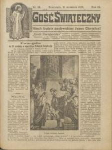 Gość Świąteczny 1924.09.21 R. XXVIII nr 38