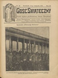 Gość Świąteczny 1925.11.15 R. XXIX nr 46