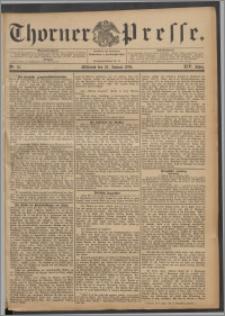 Thorner Presse 1896, Jg. XIV, Nro. 18 + Beilage