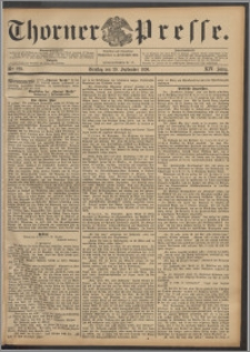 Thorner Presse 1896, Jg. XIV, Nro. 229 + Beilage