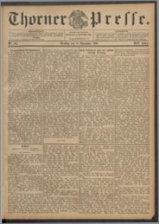 Thorner Presse 1896, Jg. XIV, Nro. 265 + Beilage