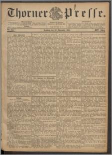 Thorner Presse 1896, Jg. XIV, Nro. 275 + Beilage