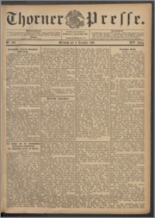 Thorner Presse 1896, Jg. XIV, Nro. 289 + Beilage