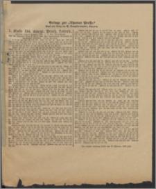Thorner Presse: 1 Klasse 194. Königl. Preuß. Lotterie 9 Januar 1896 3. Tag