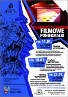 Filmowe Poniedziałki : 11.01, 18.01, 25.01