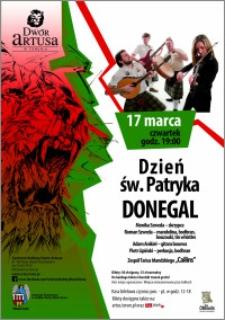 Dzień św. Patryka : Donegal : 17 marca