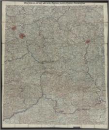 Warszawa, Brest-Litowsk, Radom, Lublin, Kielze, Tomaszów : [mapa topograficzna] / bearb. v. d. Kartogr. Abteilung des Stellvertretenden Generalstabes der Armee