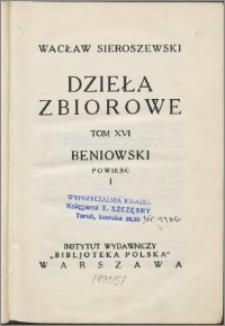 Beniowski : powieść. 1