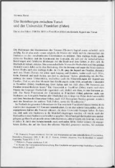 Die Beziehungen zwischen Toruń und der Universität Frankfurt (Oder)