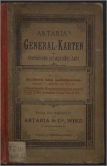 R. A. Schulz's General Post- und Strassenkarte des Kronlandes Galizien und Lodomerien mit Auschwitz, Zator und Krakau; so wie des Kronlandes Bukowina