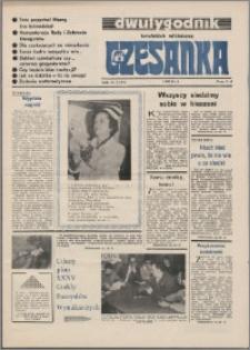 Czesanka : dwutygodnik toruńskich włókniarzy 1986, R. 8 nr 7 (180)