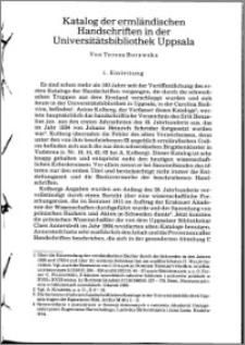 Die Bibliothek des Franziskanerklosters in Braunsberg