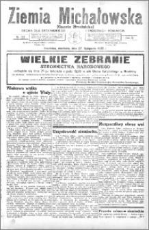 Ziemia Michałowska (Gazeta Brodnicka), R. 1932, Nr 136