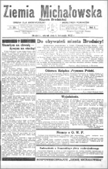 Ziemia Michałowska (Gazeta Brodnicka), R. 1932, Nr 125