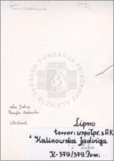 Kalinowska Jadwiga