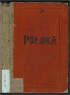 Karta Polski i krajów ościennych : ze szczegółowem oznaczeniem kolei żelaznych, dróg bitych, rzek spławnych i zdrojowisk