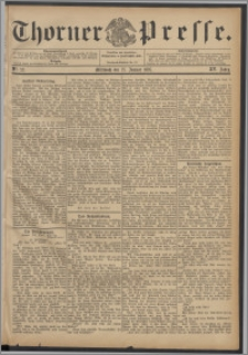 Thorner Presse 1897, Jg. XV, Nro. 22 + Beilage