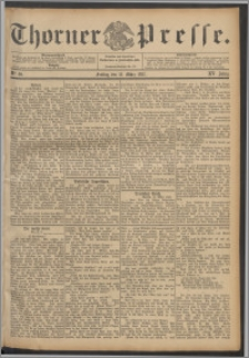Thorner Presse 1897, Jg. XV, Nro. 60 + Beilage
