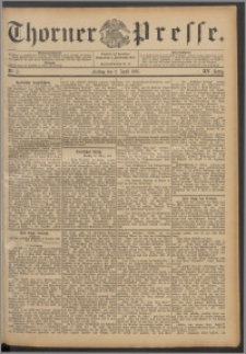 Thorner Presse 1897, Jg. XV, Nro. 77 + Beilage