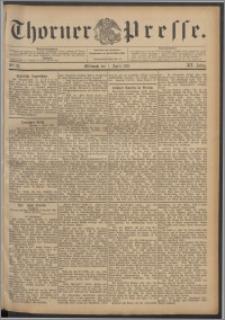 Thorner Presse 1897, Jg. XV, Nro. 81 + Beilage