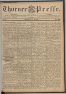Thorner Presse 1897, Jg. XV, Nro. 156 + Beilage