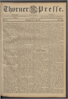 Thorner Presse 1897, Jg. XV, Nro. 168 + Beilage