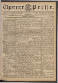 Thorner Presse 1897, Jg. XV, Nro. 181 + Beilage