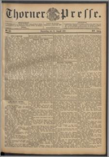 Thorner Presse 1897, Jg. XIV, Nro. 192