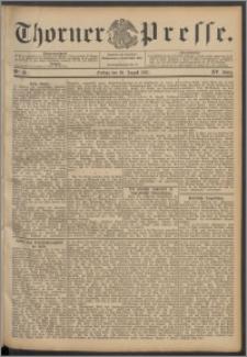 Thorner Presse 1897, Jg. XV, Nro. 193 + Beilage
