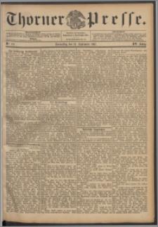 Thorner Presse 1897, Jg. XV, Nro. 216 + Beilage