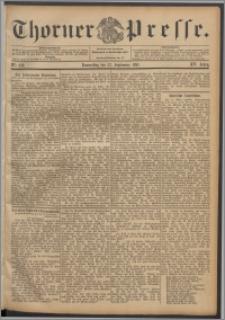 Thorner Presse 1897, Jg. XV, Nro. 222 + Beilage