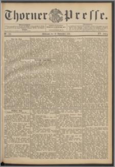 Thorner Presse 1897, Jg. XV, Nro. 263 + Beilage