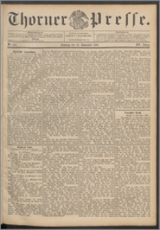 Thorner Presse 1897, Jg. XV, Nro. 267 + Beilage