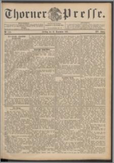 Thorner Presse 1897, Jg. XV, Nro. 276 + Beilage