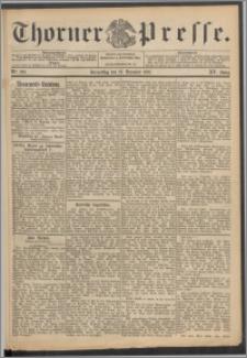 Thorner Presse 1897, Jg. XV, Nro. 299 + Beilage