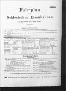 Thorner Zeitung 1884 : Fahrplan