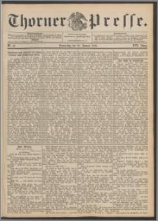 Thorner Presse 1898, Jg. XVI, Nro. 16 + Beilage