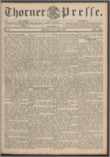 Thorner Presse 1898, Jg. XVI, Nro. 91 + Beilage