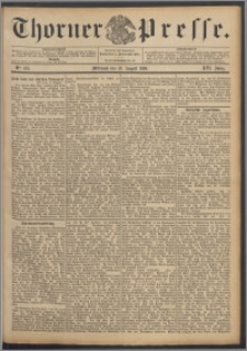 Thorner Presse 1898, Jg. XVI, Nro. 185 + Beilage