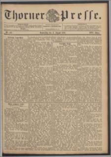 Thorner Presse 1898, Jg. XVI, Nro. 186 + Beilage, Extrablatt