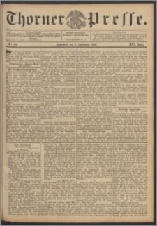 Thorner Presse 1898, Jg. XVI, Nro. 206 + Beilage