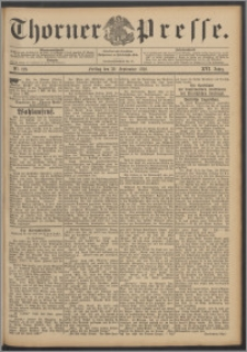 Thorner Presse 1898, Jg. XVI, Nro. 229 + Beilage