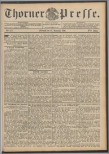 Thorner Presse 1898, Jg. XVI, Nro. 274 + Beilage
