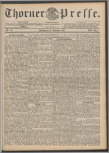 Thorner Presse 1898, Jg. XVI, Nro. 278 + Beilage